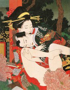 "Takato Yamamoto, Altar of Narcissus artbook, ""Visage under the Moon"""
