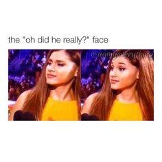The face when u catch bae looking at someone Ariana Grande Meme, Ariana Grande Photos, Flirting Quotes For Her, Flirting Memes, Funny Quotes, Funny Memes, Hilarious, Jokes, Bae