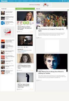 Mashable web cap