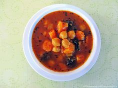 Gypsy soup is packed full of the incredibly delicious combination of sweet potatoes, chickpeas and kale. The rusty color of the broth comes from a combination of tomato, paprika and turmeric with sweet basil thrown in for good measure.It's a deeply nourishing elixir that I could feel coursing through my body into my bones making …