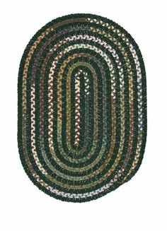 "Colonial Mills MT61 Montage Myrtle Green Rug Rug Size: Runner 2' x 10' by Colonial Mills. $169.00. Finish: Runner: 2 Ft. x 10 Ft.. 24""""W x 120""""D. Colonial Mills MT61 In the Montage area rug, a distinctive style is set when soft chenille combines with cotton-blend potpourri fabric in an alternating pattern. Features: -Technique: Braided. -Material: 25% Cotton, 25% polyester and 50% chenilled polypropylene. -Origin: USA. -Collection: Montage. -Reversible and durable. -Qua..."
