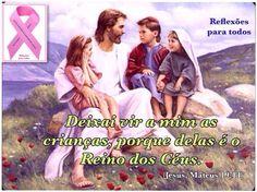 Versículo da imagem (e outras reflexões) >> acesse Participe da campanha Outubro Rosa (contra o câncer de mama)