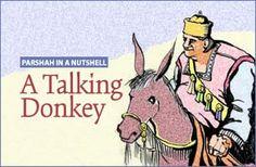 Parsha Balak - A Talking Donkey