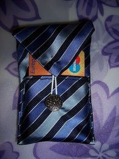 tie wallet - cool ideas for making with mens ties