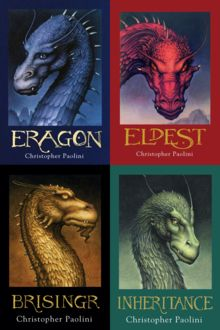 Second favorite series of all time. The Inheritance Cycle by Christopher Paolini.