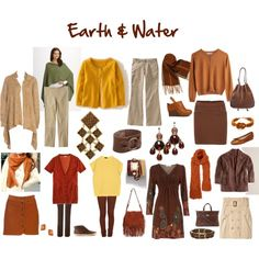 Fashion Feng Shui: Earth & Water