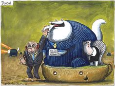 11 October 2013 - Vince Cable feeds the fat cats and sloths in the Royal Mail sell-off.