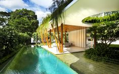 Willow House pool by Guz Architects