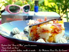 Tartare de cabillaud et jambon bellota