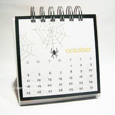 Stamping Scoops: October Calendar