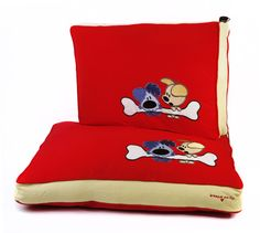 Woezel & Pip Dogbed CupidRed
