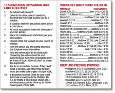 Ready Reference Guide: Useful Bible references for easy access.