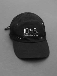 Image of 10:45pm Still Thinking of You Strapback Cap