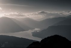 Loch Katrine Sunset from Ben Venue