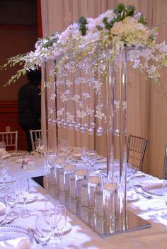 Hot sale wedding columns used wedding decorationswedding pillars from the initial meeting this couple wanted decor to be different from other weddings junglespirit Gallery