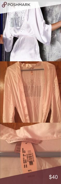 VS Angel satin bombshell robe NWT! Rare Victoria's Secret Intimates & Sleepwear Robes