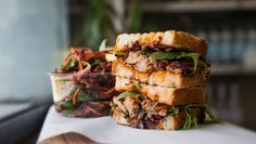 sandwiches Dublin Travel, Ireland Travel, Cafe Dublin, Sandwiches, Bench, Green, Food, Modern Design, Restaurants