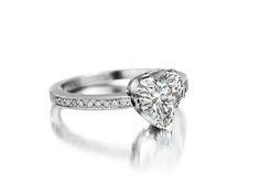 A Diamond Heart Ring