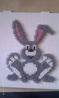 Easter rabbit hama perler beads by Pernille HenriksenHama (disambiguation) Hama is a city in west-central Syria, previously known as Hamath. Hama or Hamath (or variants) may also refer to: Perler Bead Designs, Hama Beads Design, Perler Beads, Perler Bead Art, Pearler Bead Patterns, Perler Patterns, Hama Beads Animals, Fusion Beads, Iron Beads