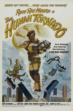 The Human Tornado also known as Dolemite II, a 1976 cult blaxploitation film, was the sequel to Dolemite. It starred Rudy Ray Moore as Dolemite and Ernie Hudson as Boe. Rudy Ray Moore, Rock N Roll, African American Movies, Old School Movies, 1976 Movies, Black Tv Shows, Black History Facts, Vintage Movies, Movies