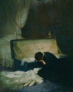 Frederick William Elwell -   The wedding dress, 1911