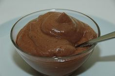 Recipes :: Mousse chocolate or lemon