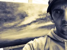 Nial Adams Landscape Oil Painter from Norfolk, UK.   See www.BigNorfolkSkies.co.uk