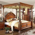 Meridian Royal Canopy Bed