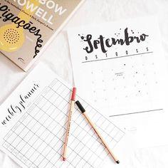 Domingo, dia de planejar a semana! 😁