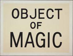 Object of Magic -  Jonathan Borofsky