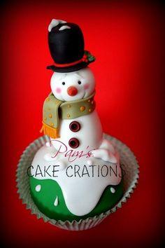 @KatieSheaDesign ♡❤ #Christmas #cupcakes ♥ cupcake christmas