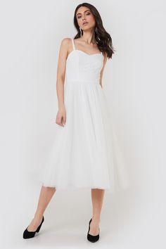 15fb739b8e46 Ida Sjöstedt Amanda Dress in White