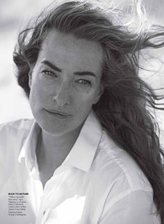 Tatjana Patitz by Peter Lindbergh - Vogue Us Aug. 2012
