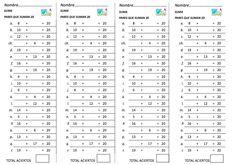 76 Mejores Imagenes De Calculo Mental Mental Calculation Fun Math