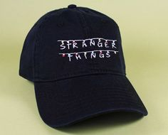 Stranger Things Baseball Hat Dad Hat Low Profile White Pink Black Casquette Embroidered Unisex Adjustable Strap Back Baseball Cap
