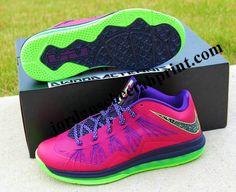 Red Plum Nike LeBron X Low