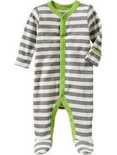 Printed Footed One-Pieces for Baby | Old Navy -best ever