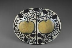 Ceramic Plates, Ceramic Pottery, Decorative Plates, Lampe Pigeon, Pierre Marie, Alberto Giacometti, Forbidden Fruit, Metal Hangers, Plates And Bowls