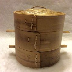 A personal favorite from my Etsy shop https://www.etsy.com/listing/385285838/vintage-two-layer-bamboo-steamer-free