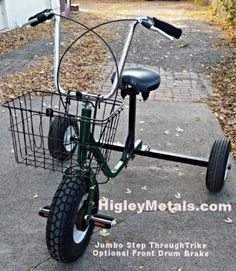 Giant Tricycles for adults and people with special needs. 3 sizes of axles. Tricycle Bike, Trike Bicycle, Cargo Bike, Three Wheel Bicycle, Drift Trike, Bike Trailer, Racing Events, Fat Bike, Drum Brake