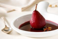 Rich, smooth, delicious. This Paleoista pear recipe includes a bonus: Pinot Noir.