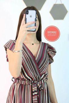 Hijab Fashion, Fashion Dresses, Fashion Terms, Thai Dress, Islamic Fashion, Autumn Street Style, One Piece Dress, Mode Style, Pattern Fashion