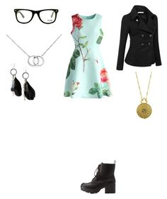 """""""Untitled #311"""" by mrs-grant-guston ❤ liked on Polyvore featuring Charlotte Russe, Chicwish, Doublju, GlassesUSA, Blue Nile, 1928 and MANGO"""