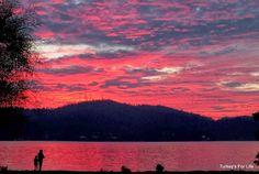 Fethiye Sunset On Republic Day