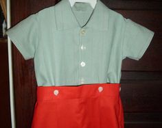 Vintage-Inspired Boy's Outfit
