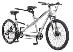 """Product review for Schwinn Twinn Tandem 20""""/ one size Wheel Bicycle, Grey One Frame Size - Admit it, just about everything in life is better when shared. Whether it's dining out, watching a new TV show, eating a meal or anything else, lasting memories and fun experiences are created when shared with the people you care about. So why should bike riding be any different hop on the..."""