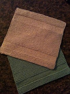 KNITTING - Copycat Dishcloth by Michelle Krause. Simple and symmetrical. By slipping the first stitch of every row and purling the last stitch, the 2 side edges maintain an attractive appearance. Knitted Washcloth Patterns, Knitted Washcloths, Dishcloth Knitting Patterns, Crochet Dishcloths, Knit Or Crochet, Loom Knitting, Knitting Stitches, Knit Patterns, Free Knitting