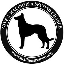 Support Malinois Rescue, Buy Your Malinois Rescue Car Magnet