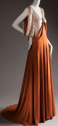 Jeanne Lanvin - Robe de Soirée - vers 1935