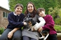 The Walker family from Barton in Oxford consists of parents Suzanne and Steve and children Josh aged eleven and Harry aged eight. Both Josh and Harry are energetic and polite young boys. Read more at   http://paws.dogsforthedisabled.org/case-studies/the-walker-family-and-miri/#